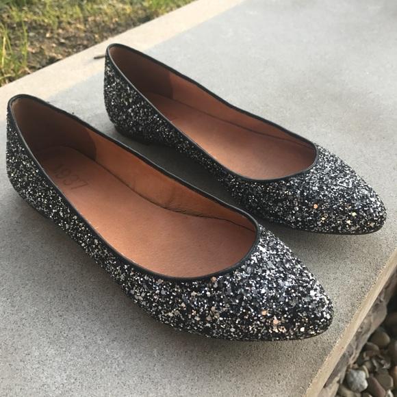 Madewell Shoes | Madewell Glitter Flats